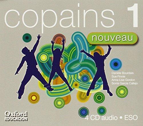 9788467333541: Copains Nouveau 1. Livre de Professeur + CD - 9788467333541