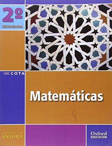 9788467338119: Matemáticas 2º ESO Ánfora Cota: Libro del Alumno - 9788467338119
