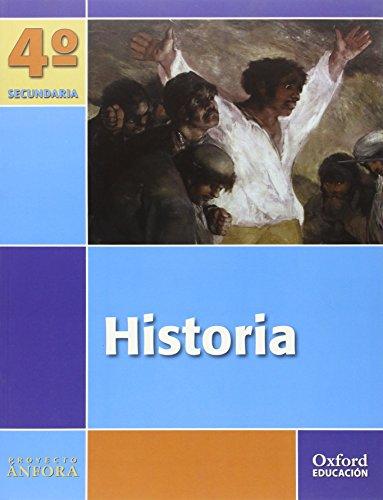 9788467338751: Historia 4º ESO Ánfora: Libro del Alumno - 9788467338751