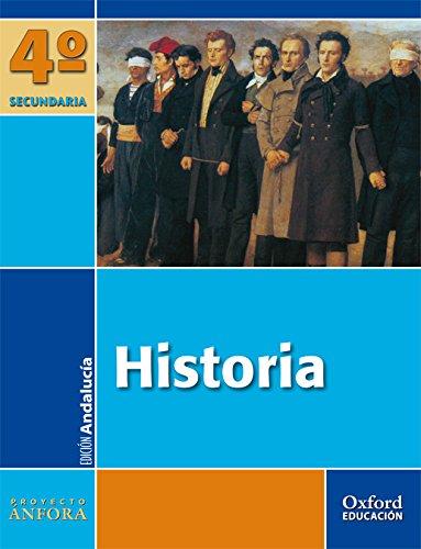 9788467338768: Historia 4º ESO Ánfora (Andalucía): Libro del Alumno - 9788467338768