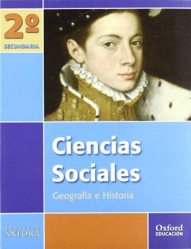 9788467338904: Ciencias Sociales 2º ESO Ánfora: Libro del Alumno - 9788467338904