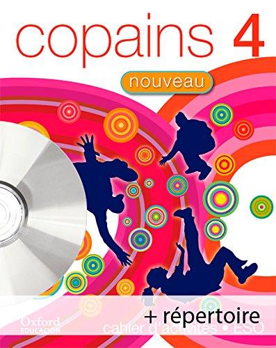 9788467342017: Copains Nouveau 4. Pack (Cahier d'Activités + Répertoire + CD-MultiRom) - 9788467342017
