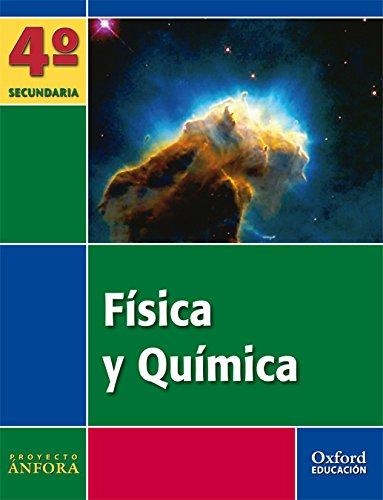 9788467343274: Anfo fis y quim 4ºeso libro + cuaderno (Ánfora) - 9788467343274