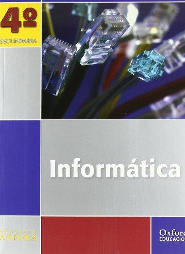 9788467343427: Pack Informática. Ánfora. Libro Del Alumno. Cuaderno - 4º ESO (+ CD) - 9788467343427