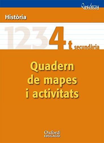 9788467347524: Història 4º ESO Cuadernos Oxford Quaderns de mapes i activitats (Comunitat Valenciana) - 9788467347524