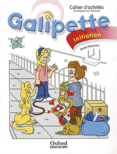 9788467351170: Galipette iniciacion ce frances