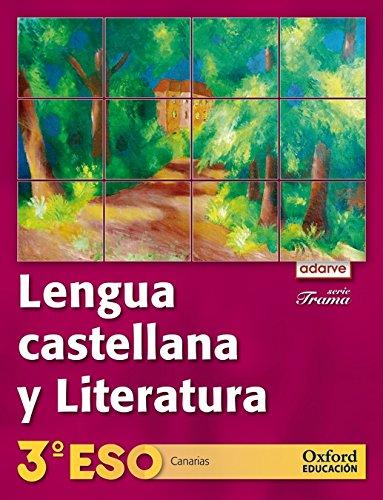 9788467357806: Lengua Castellana y Literatura 3º ESO Adarve Trama (Canarias): Libro del Alumno - 9788467357806