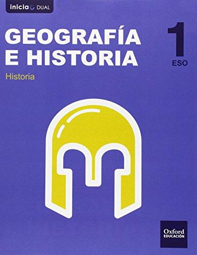 9788467358926: Geografía E Historia. Libro Del Alumno. Castilla León. ESO 1 (Inicia) - 9788467358926 (Inicia Dual)