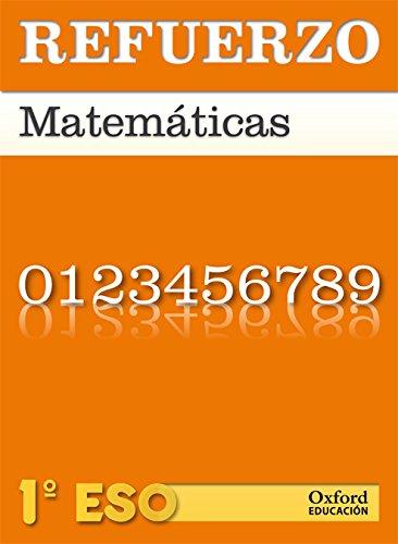 9788467359848: Matemáticas 1º ESO Refuerzo - 9788467359848