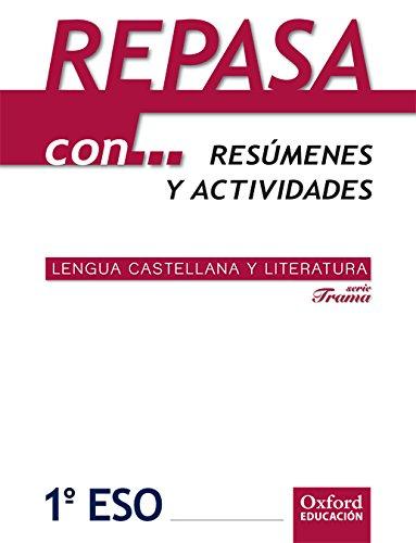 9788467362626: Lengua Castellana y Literatura 1º ESO Adarve Trama: Repasa con¿ - 9788467362626