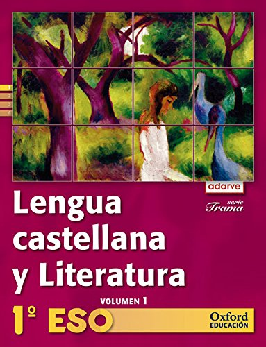 9788467362732: Lengua Castellana Y Literatura. Adarve Trama Trimestral - 1º ESO - 9788467362732