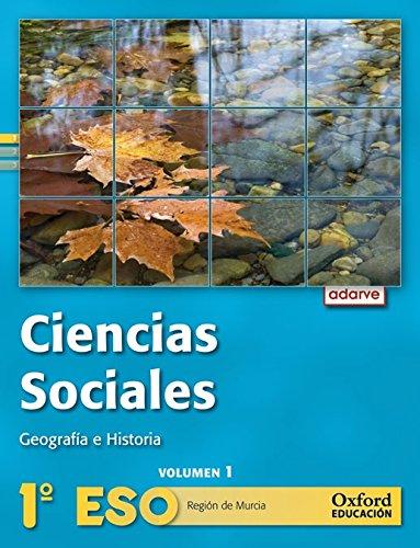 9788467362817: Ciencias Sociales 1º ESO Adarve Trimestral (Región de Murcia): Libro del Alumno - 9788467362817