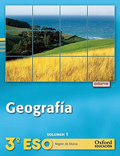 9788467362831: Geograf¬a 3¼ ESO Adarve Trimestral (RegiÐn de Murcia): Libro del Alumno