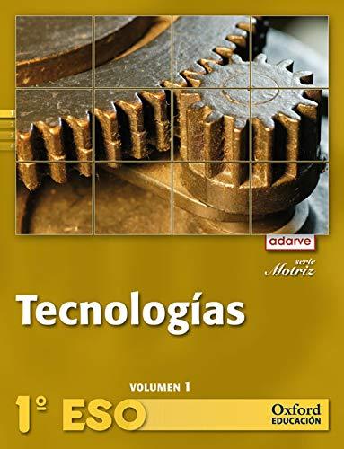 9788467362862: Tecnologías 1º ESO Adarve Motriz Trimestral: Libro del Alumno - 9788467362862