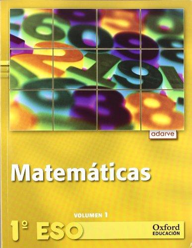 9788467362886: Matemáticas 1.º ESO Adarve Trimestral. Pack (Libro del alumno+CD) - 9788467362886