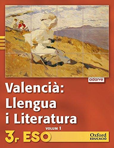 9788467363296: Projecte Adarve, llengua i literatura, 3 ESO (Valencia)