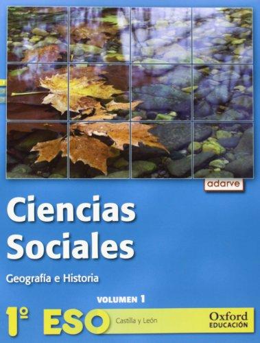 9788467363340: Ciencias sociales 1.º ESO Adarve Trimestral (Castilla y León)