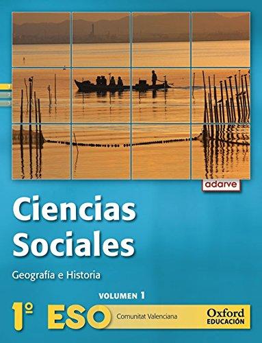 9788467363364: Ciencias Sociales 1º ESO Adarve Trimestral (Comunitat Valenciana): Libro del Alumno - 9788467363364
