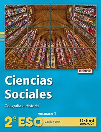 9788467363401: Ciencias Sociales 2º ESO Adarve Trimestral (Castilla y León): Libro del Alumno - 9788467363401