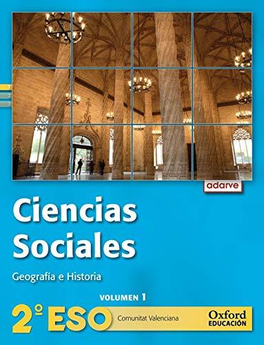 9788467363425: Ciencias Sociales 2º ESO Adarve Trimestral (Comunitat Valenciana): Libro del Alumno - 9788467363425