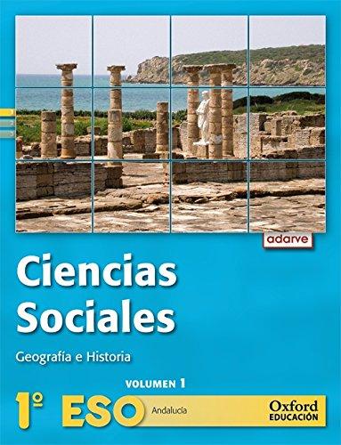 9788467363579: Ciencias Sociales 1º ESO Adarve Trimestral (Andalucía): Libro del Alumno - 9788467363579