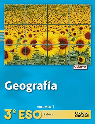 9788467363586: Geografía 3.º ESO Adarve Trimestral (Andalucía)