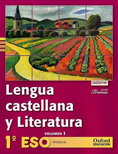 9788467364248: Lengua Castellana y Literatura 1º ESO Adarve Trama Trimestral (Andalucía): Libro del Alumno - 9788467364248