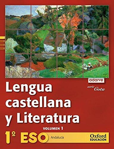 9788467364262: Lengua Castellana y Literatura 1º ESO Adarve Cota Trimestral (Andalucía): Libro del Alumno - 9788467364262