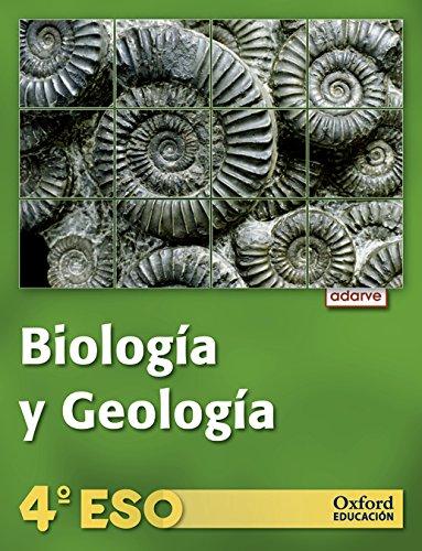 9788467365849: Adarve Biología y Geología 4º ESO Libro del Alumno