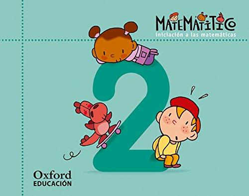 9788467367072: Matematitico 4 años. Cuaderno 2 (Matematítico) - 9788467367072