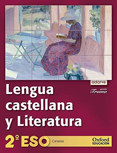 9788467367201: Lengua Castellana y Literatura 2º ESO Adarve Trama (Canarias): Libro del Alumno - 9788467367201