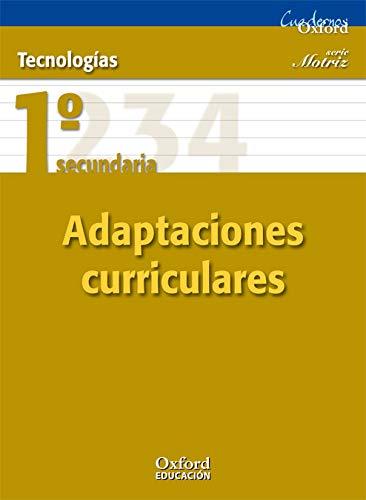9788467367386: Tecnologías 1º ESO Motriz Adaptaciones Curriculares (Cuadernos Oxford) - 9788467367386