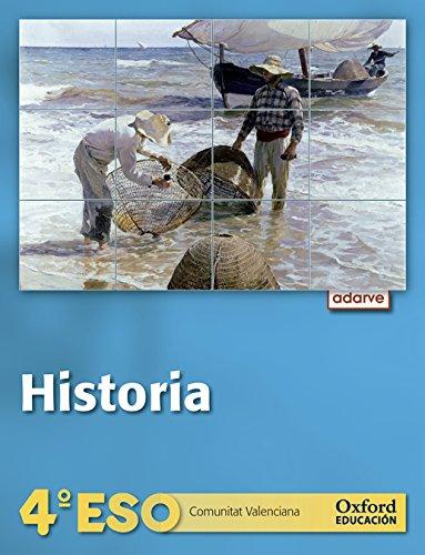 9788467368581: Historia 4º ESO Adarve Trimestral (Comunitat Valenciana): Libro del Alumno - 9788467368581