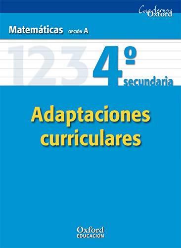 9788467369571: Matemáticas Opción A 4º ESO Adaptaciones Curriculares (Cuadernos Oxford) - 9788467369571