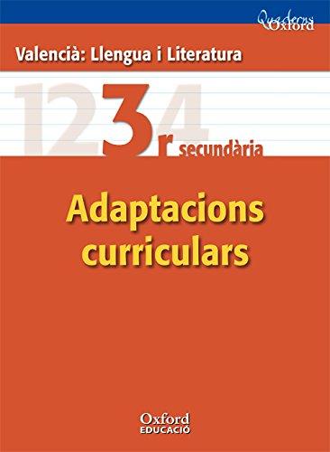 9788467370034: Valencià : Llengua I Literatura 3º ESO Adaptacions Curriculars (Comunitat Valenciana) (Cuadernos Oxford)
