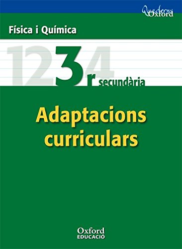 9788467370829: Física i Química 3º ESO Adaptacions Curriculars (Comunitat Valenciana) (Cuadernos Oxford) - 9788467370829