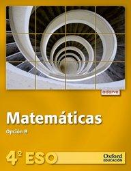 9788467373608: Adarve Matemáticas B 4º ESO Libro del Alumno + CD Alumno Version Trimestral (Volúmenes 1,2,3): Adarve Matemáticas B 4º ESO Libro del Alumno + CD Alumno Volumen 1