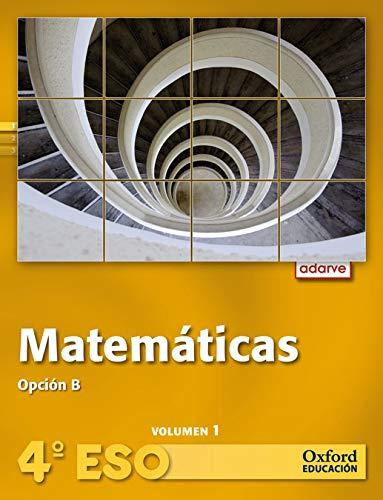 9788467373769: Matemáticas Opción B 4º ESO Adarve Trimestral. Pack (Libro del Alumno + CD) - 9788467373769