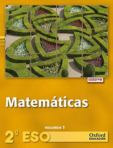 12).adar.matematicas 2º.eso *trimestral* (+cd): Varios autores