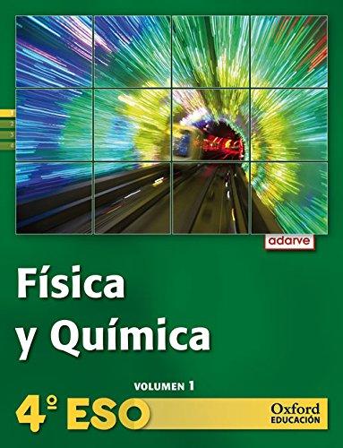 9788467373806: Física y Química 4º ESO Adarve Trimestral: Libro del Alumno - 9788467373806