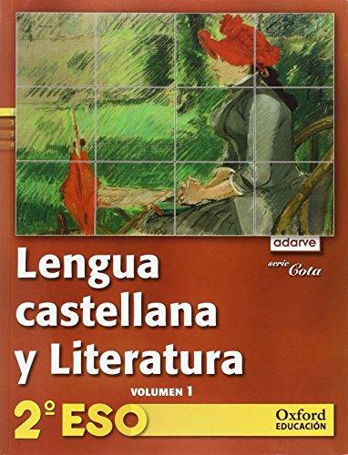 9788467375176: Adarve Lengua y Literatura Serie Cota 2ºESO Libro del Alumno Versión Trimestral: Adar leng cota 2ºeso la trim 11 vol1