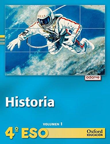 9788467376043: Historia 4º ESO Adarve Trimestral: Libro del Alumno - 9788467376043