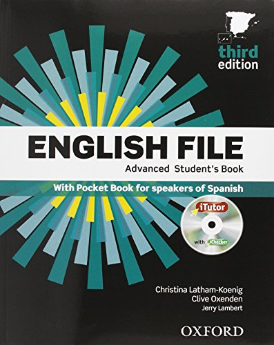 9788467378771: English File 3rd Edition Advanced Studen's Book +Workbook with key + Oxford Advanced Learner's Dictionary 9th Edition