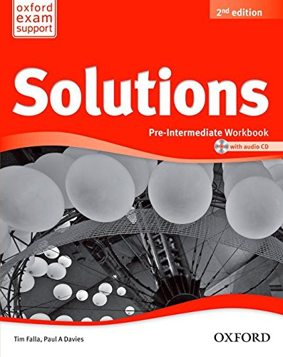 9788467382006: Solutions Pre Intermediate Workbook & CD Pack 2ª Edición