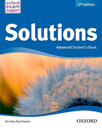 9788467382068: Solutions Advanced Student's Book Pack 2ª Edición (Solutions Second Edition) - 9788467382068