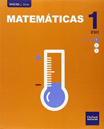 9788467385830: Matemáticas. Libro Del Alumno. ESO 1 (Inicia Dual) - 9788467385830