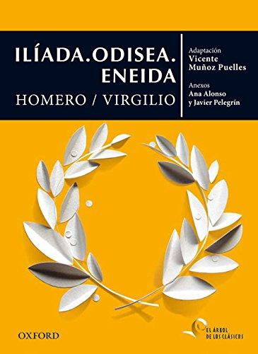 Iliada ; Odisea ; Eneida (Paperback): Homero, Publio Virgilio