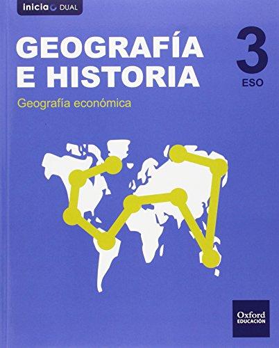 9788467399004: Geograf�a e Historia 3.� ESO Inicia Dual. Libro del Alumno. Madrid. Valencia