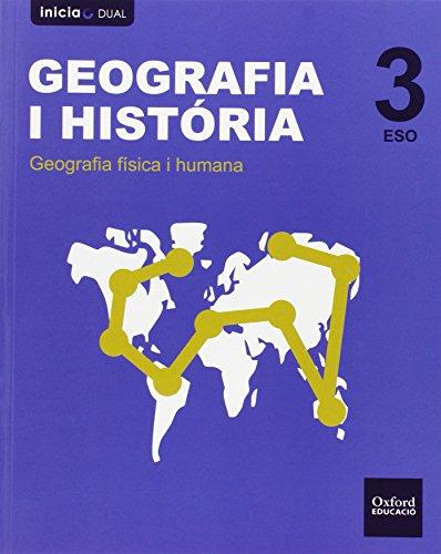 9788467399011: Geograf�a e Historia 3.� ESO Inicia Dual. Libro del Alumno. Madrid. Valenciano