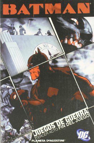9788467433920: Batman: Juegos de guerra nº 03. Fin del juego
